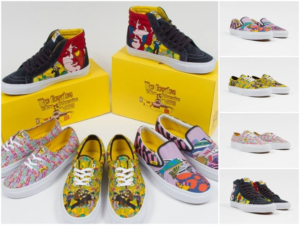 #Vans – las #zapatillas sixties rockeras #lesdoitmagazine