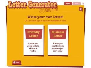 The letter generator tool is designed to help students learn to the letter generator tool is designed to help students learn to identify all the essential parts of a business or friendly letter and then generate letters spiritdancerdesigns Gallery