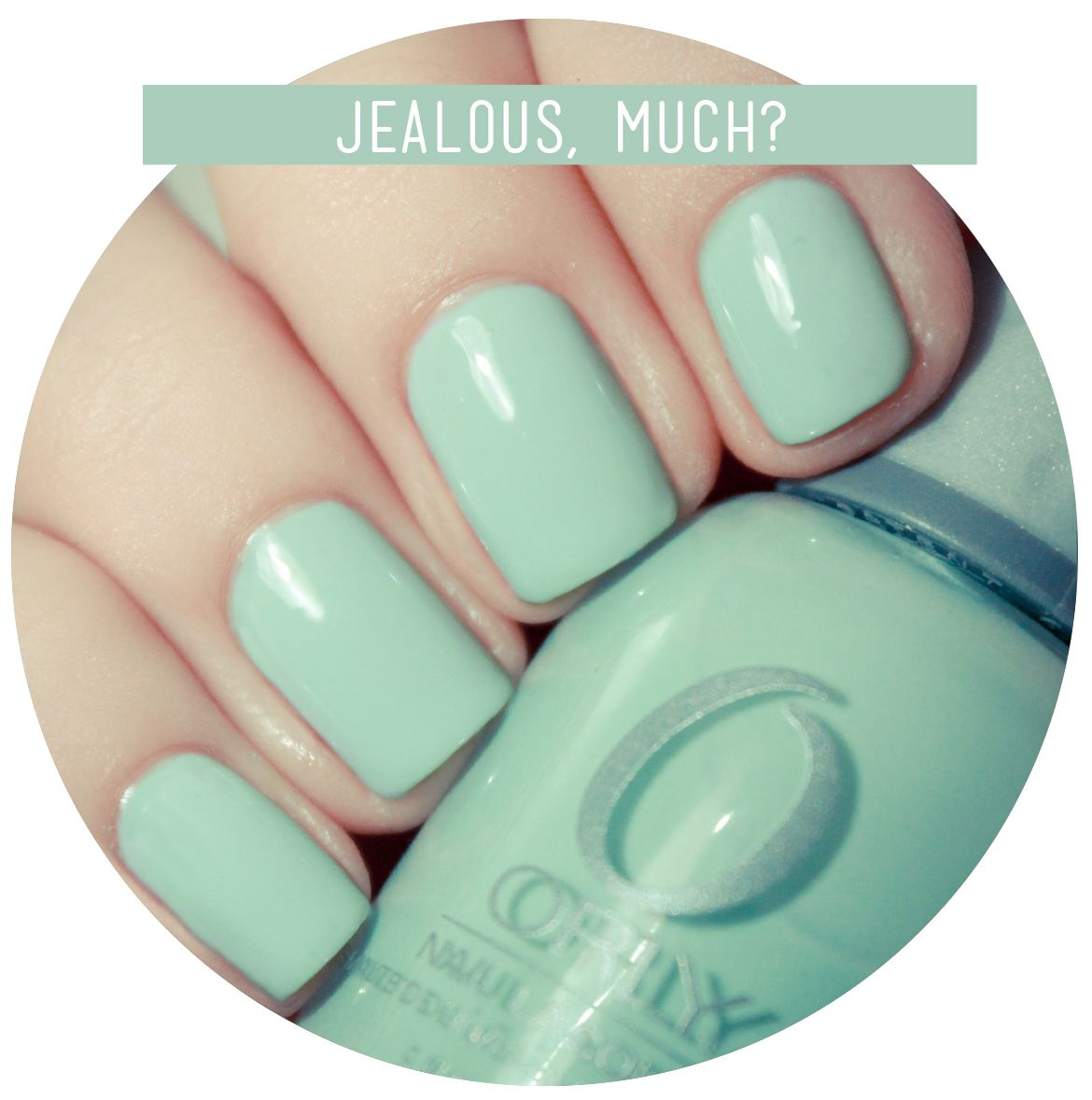 I\'ve been looking for a mint shade-Orly nail polish in Jealous, much ...
