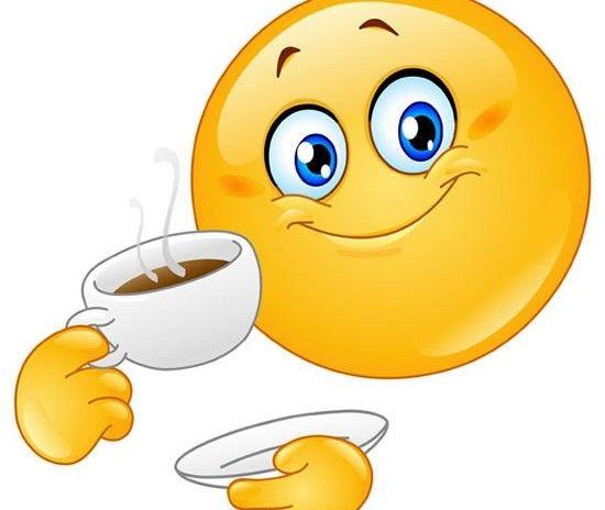 Coffee Drinking Emoji