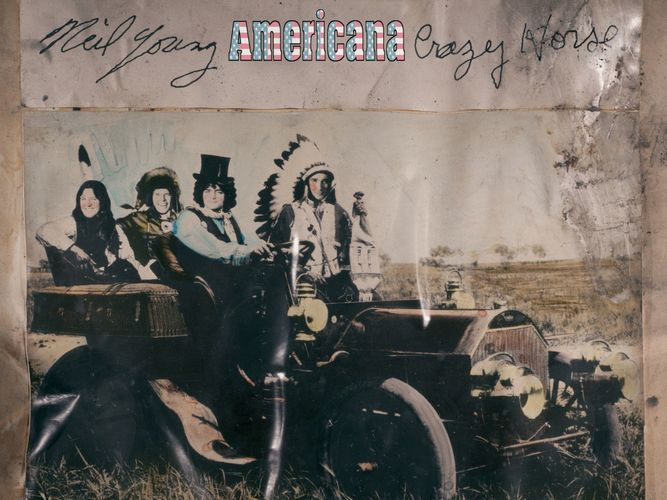"""A new CD release from...Neil Young and Crazy Horse: """"Americana"""" arrives on June 5, 2012."""