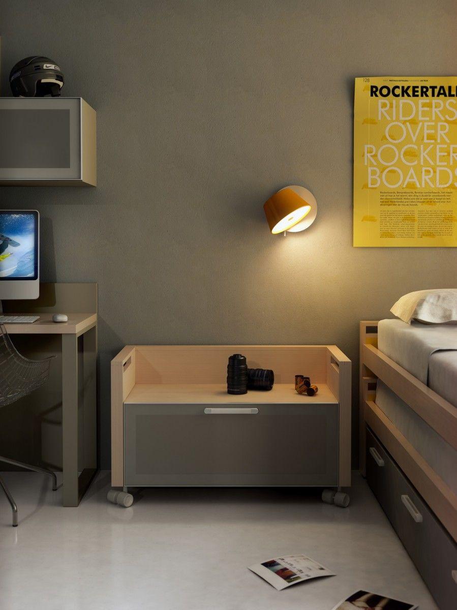 12 ideas para iluminar el cuarto infantil - Lampara habitacion juvenil ...