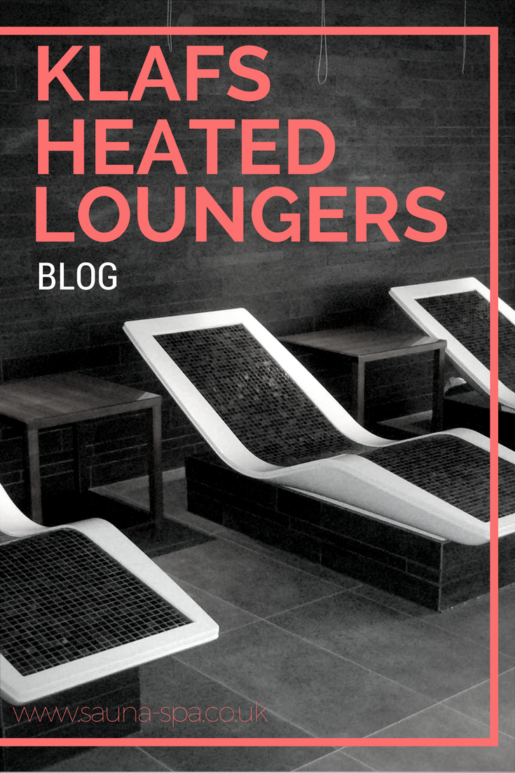 Klafs Heated Loungers Blog Spa Lounge Indoor Sauna Men Spa