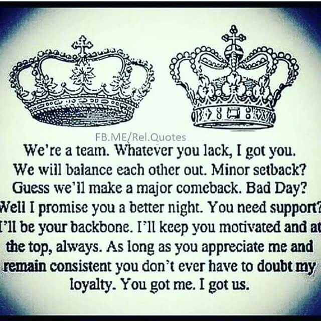 Team King And Queen Love Quotes Wwwpicswecom