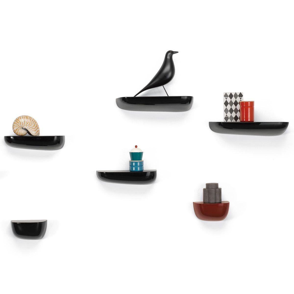 Vitra - Corniches, Gruppe schwarz / mit Eames Housebird