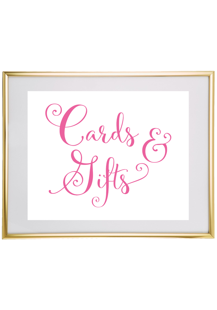 free printable wedding sign from chicfettiwed