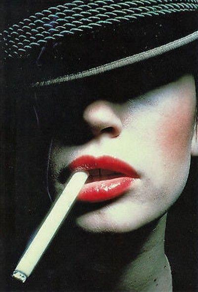 """""""SMOKER"""" PHOTOGRAPHY BY AL SATTERWHITE (1979)"""