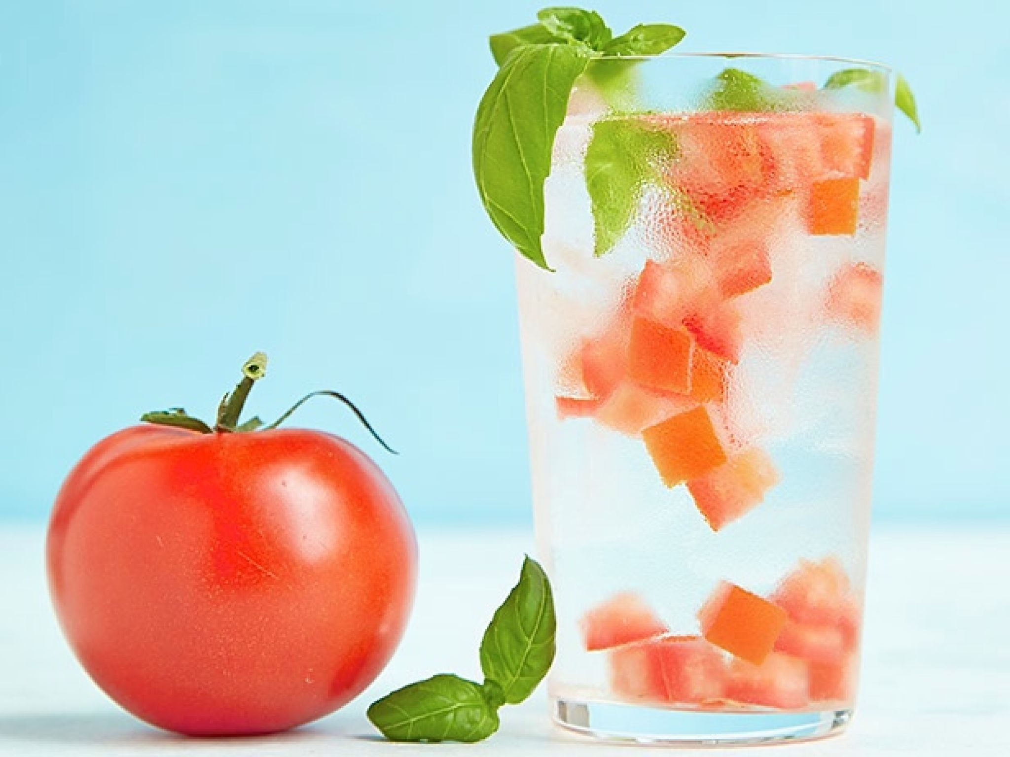 Resultado de imagen para tomato and basil  water