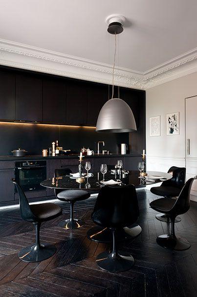 Décoration en noir \ blanc Decoration