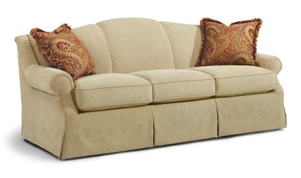 flexsteel sofas contrast welt option available flexsteel lauro - Flexsteel Sofas