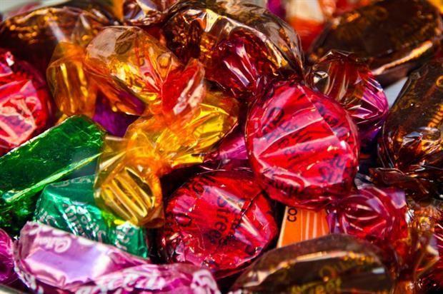 Festive Candy Campaigns - creative multi-sensory marketing idea!