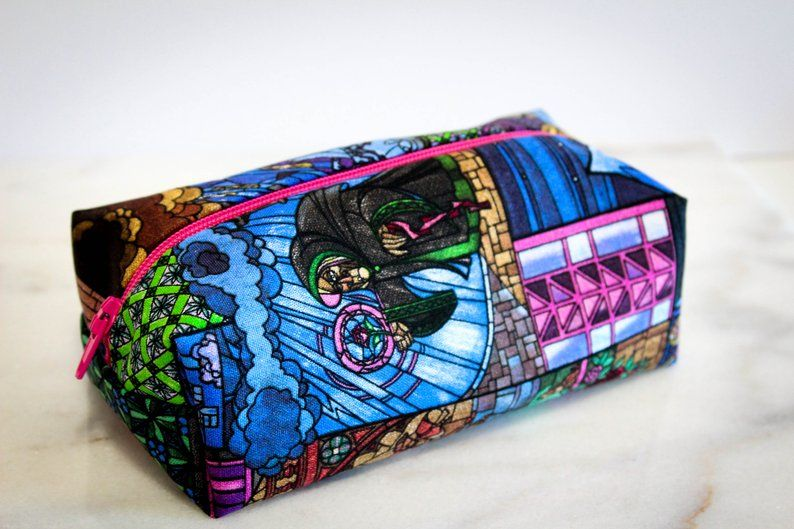 Beauty and the Beast Pencil Case Make Up Bag