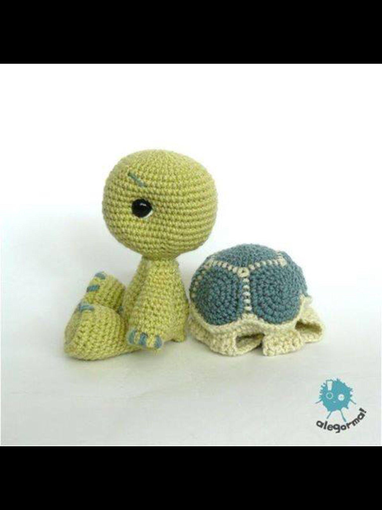 Schildpad Haken Speciaal Pinterest Amigurumi Crochet And