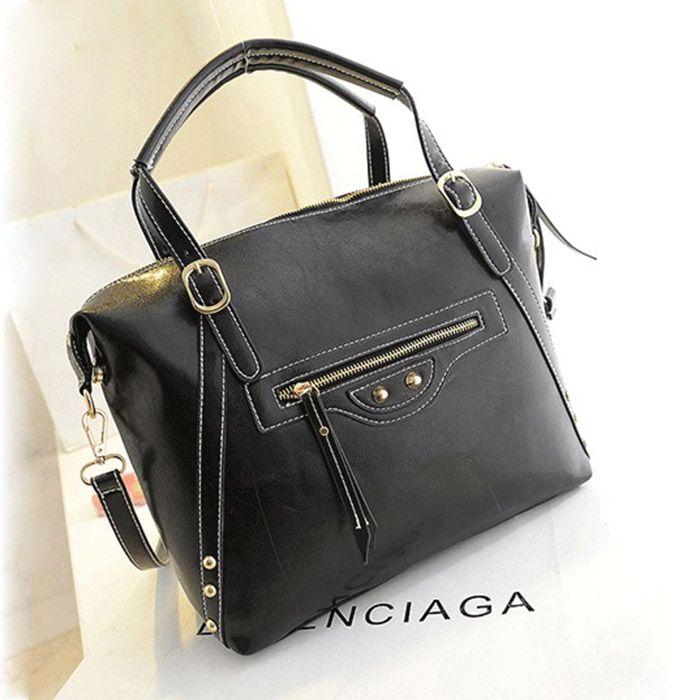 2014 women's handbag fashion strap zipper handbag one shoulder bag female bag