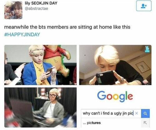 He's worldwide handsome that's why