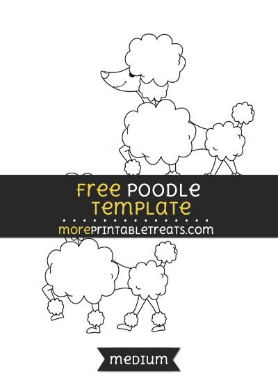 Free Poodle Template