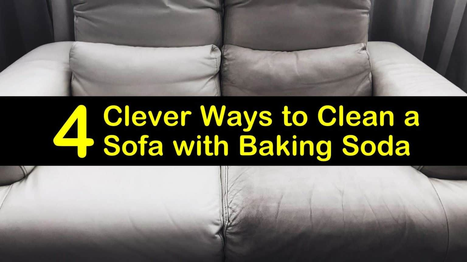 how to get blood out of couch baking soda