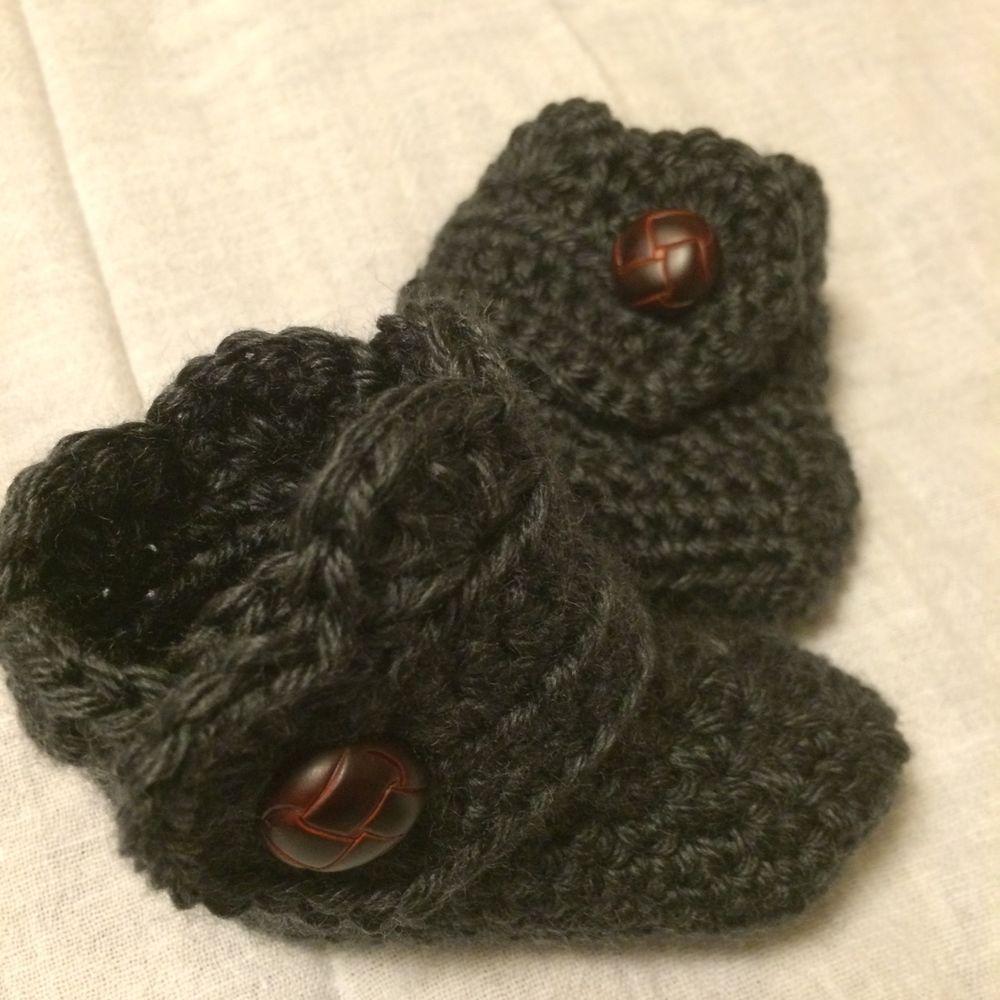 Classic Camouflage Acrylic Handmade Crochet Basic Baby Beanie 17 inch