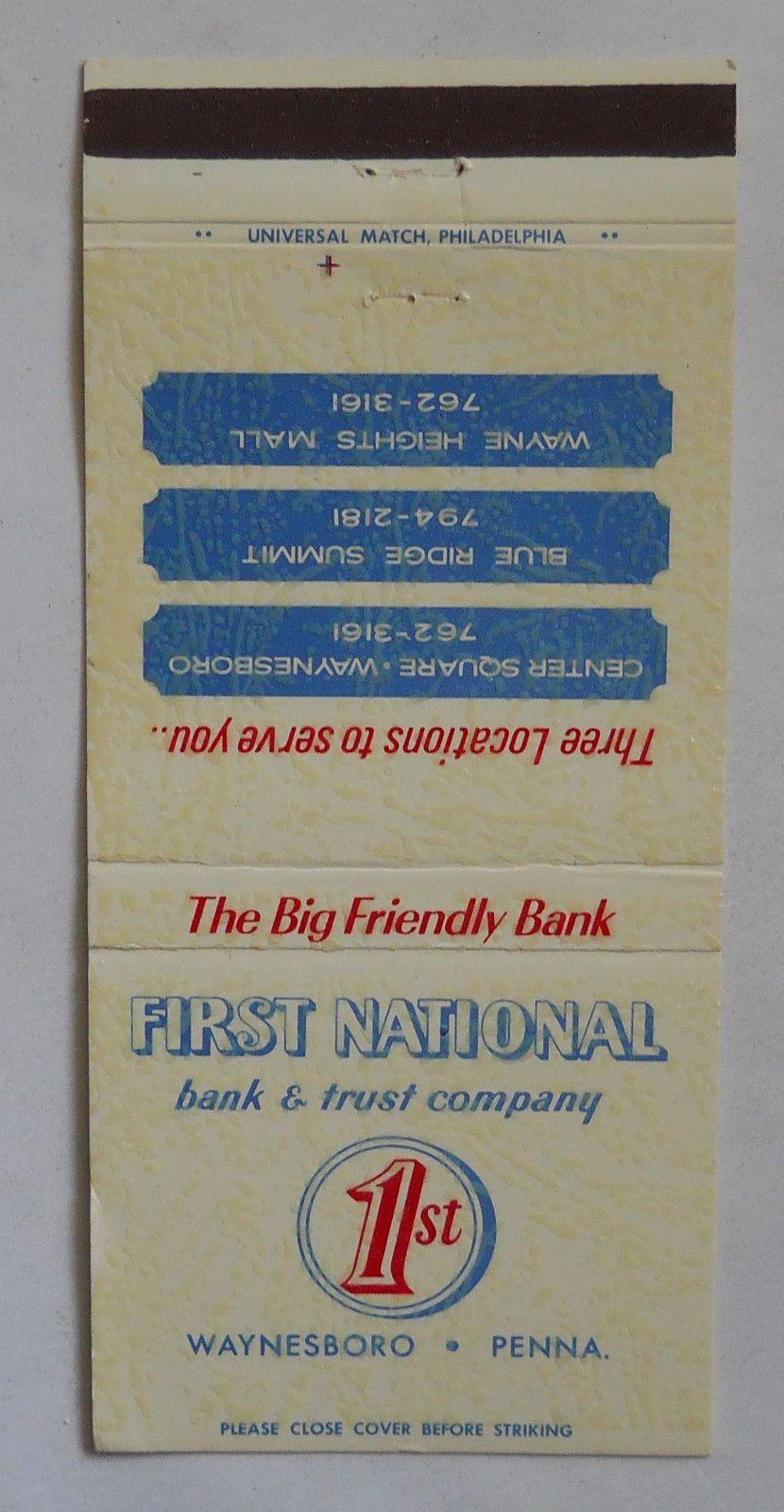 158 first national bank trust company waynesboro pa