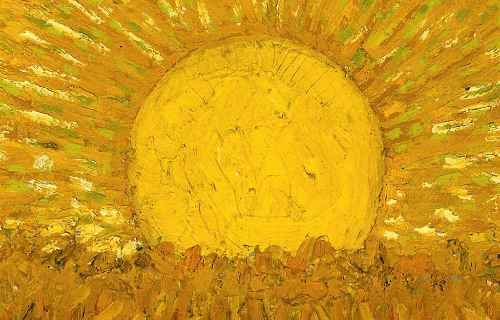 "huariqueje: "" The Sower (Sower with Setting Sun) Detail - Vincent van Gogh  , 1888. Dutch, 1853-1889 Oil on canvas, 204.5… | Van gogh, Vincent van gogh,  Sun painting"