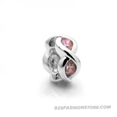 Pandora Yellow Spacers Gems Silver Charms Beads PD002_PD0