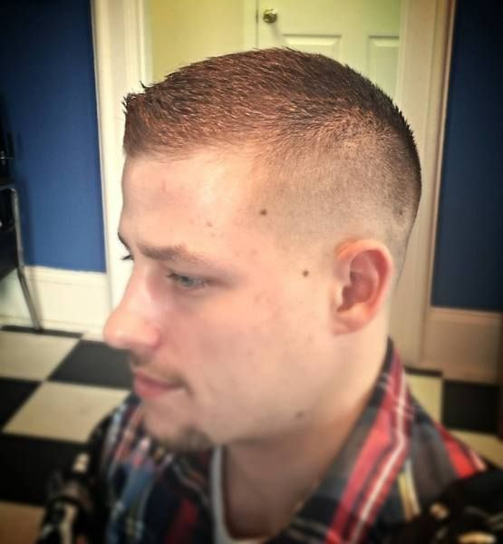 Crew Cut Hairstyles For Men 20