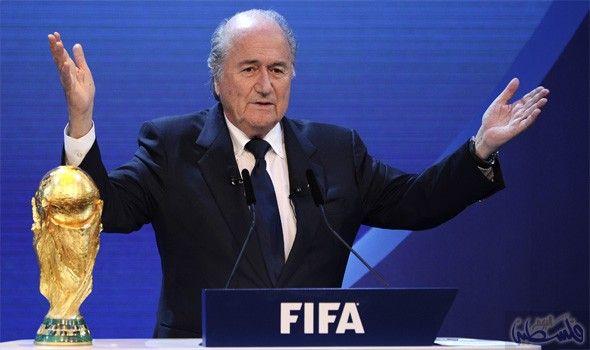 جوزيف بلاتر يبذل قصارى جهده للفوز بجائزة نوبل للسلام Fifa World Cup World