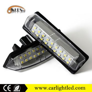 12v 30v For Lexus Toyota Camry Led License Plate Light Lamp Bulb Auto Spare Parts Toyota Camry Lamp Bulb Led