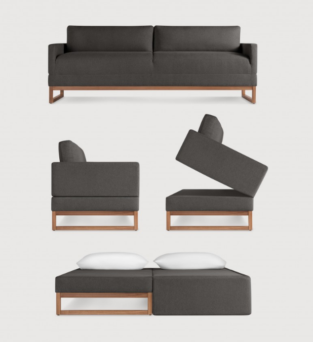 College Futons Begone 6 Fashionable Sofabeds For Nyc Apartments Diplomat Sofa From Blu Dot