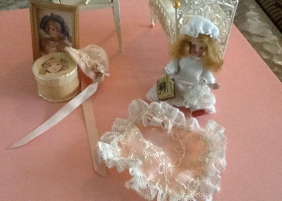 Child's nursery items http://stores.ebay.com/happyharvesterminiatures