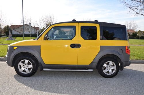 Used Yellow 2003 Honda Element for sale in Landess u0026 Piedmont, Milpitas,  CA, US