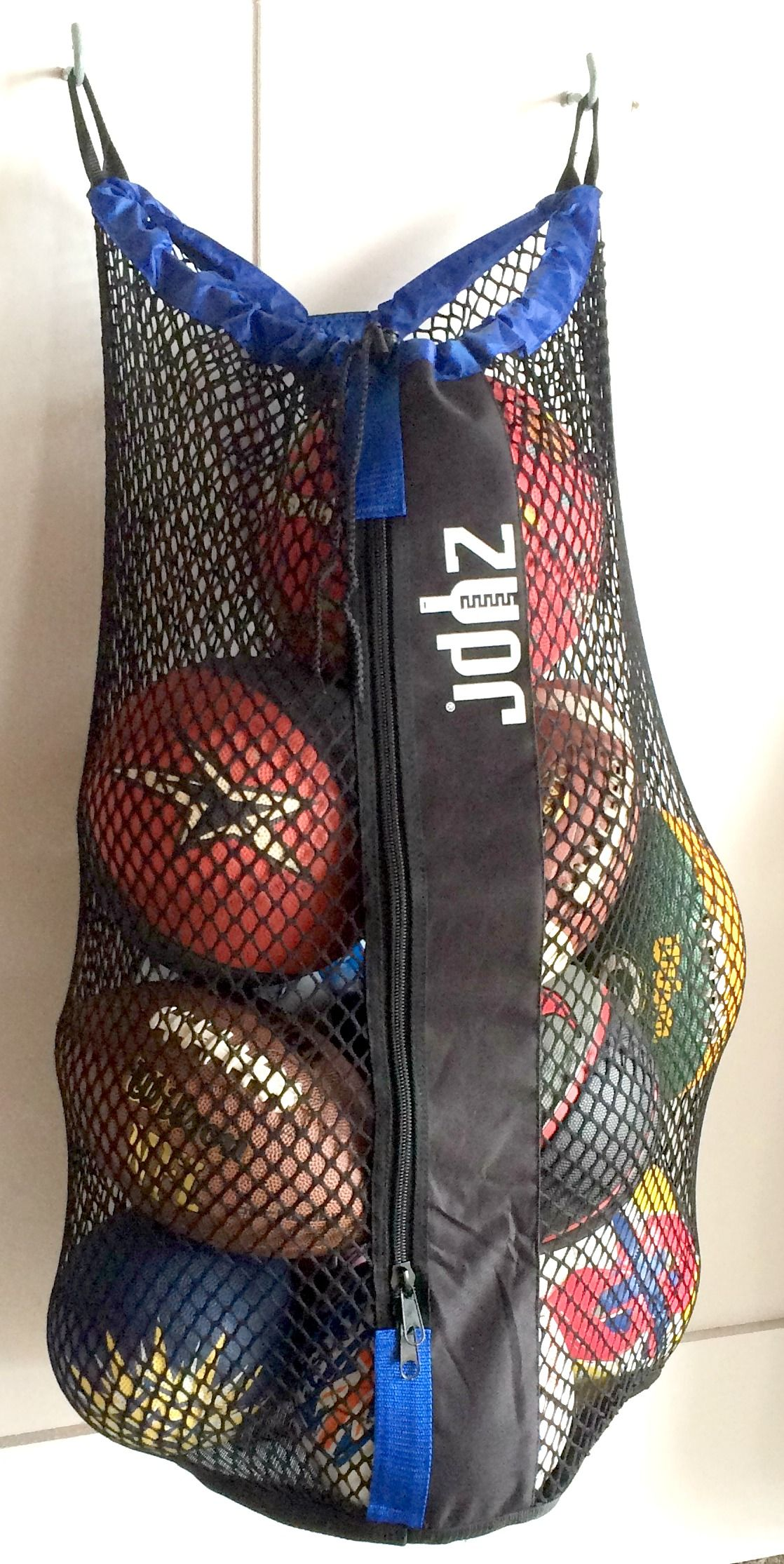 Wall Mounted Storage Net Bags For Sports Equipment
