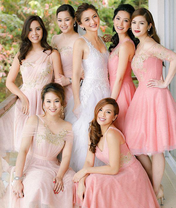 Celebrity Wedding Drew Arellano And Iya Villania By Mangored Celebrity Weddings Pink Bridesmaid Dresses Celebrity Wedding Photos,Formal Dress To Wear To Wedding