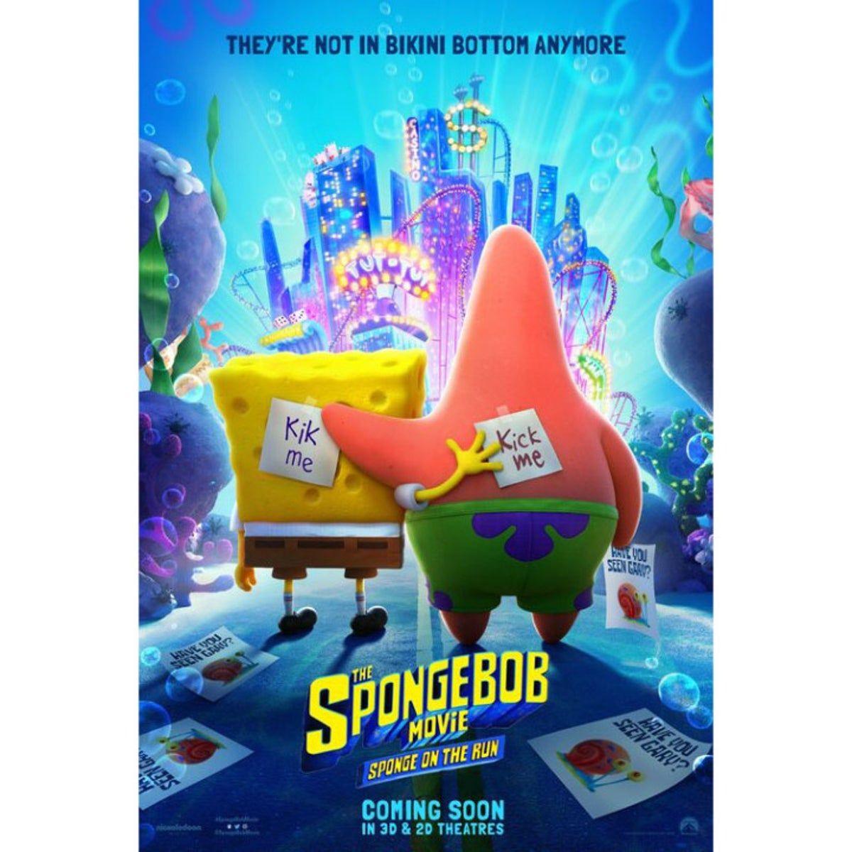 Poster Spongebob Movie Wonderful Life On Mercari Spongebob Free Movies Online Full Movies Online Free