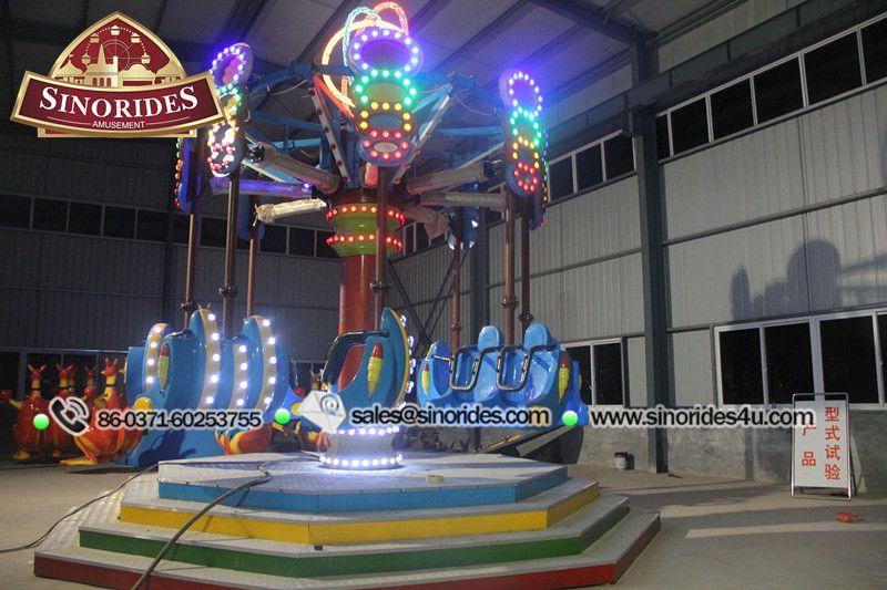 Airborne Shot Family Amusement Park Rides For Sale Sinorides Amusement Park Equipment Amusement Park Rides