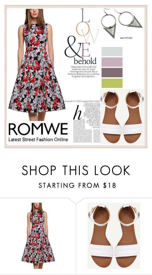 """""""ROMWE"""" by damira-dlxv ❤ liked on Polyvore featuring Whiteley and ASOS"""