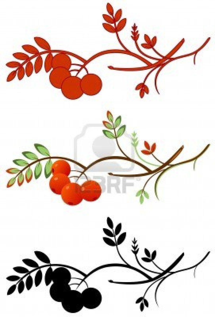 Rowan Tree Tattoo : rowan, tattoo, Rowan, Tree., Configuration,, Berries, Awful, Beads., Tattoo, Small,, Tattoo,