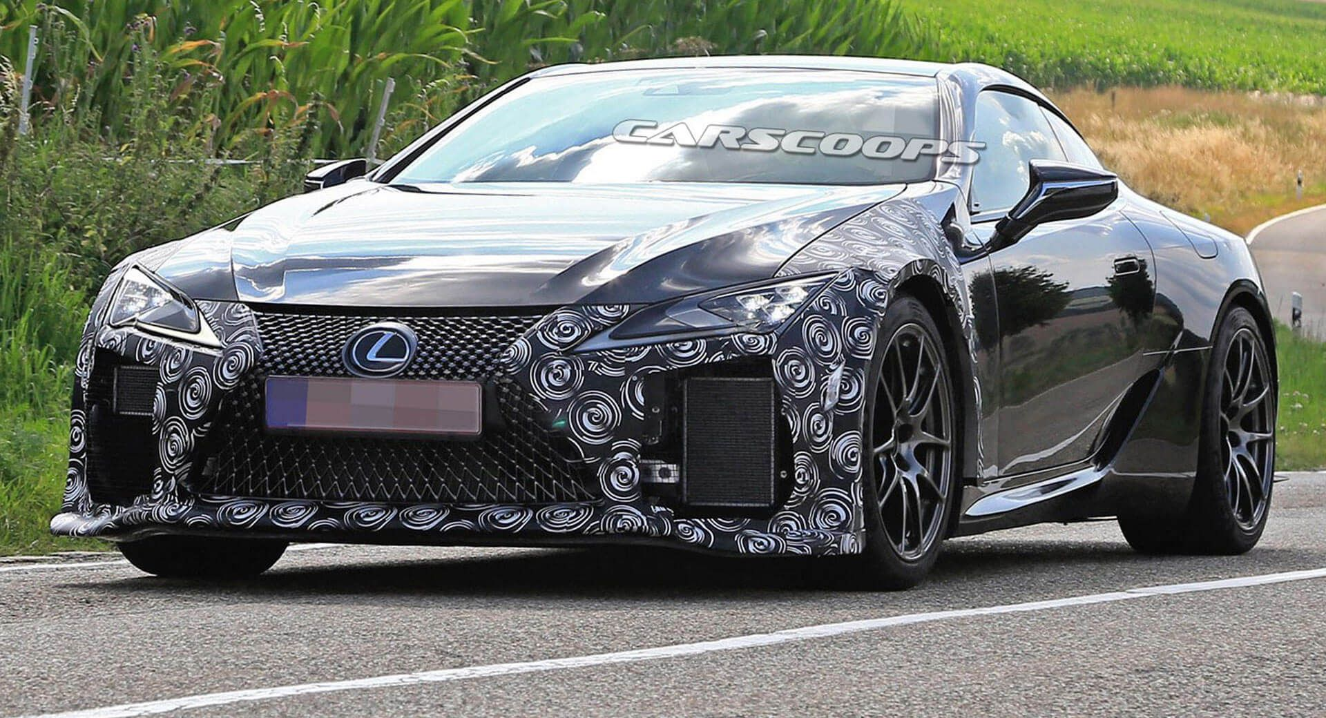Lexus Lc F Is Happening Here Are The First Photos Of New Performance Flagship Updated With Images Lexus Lc Lexus Lexus Models