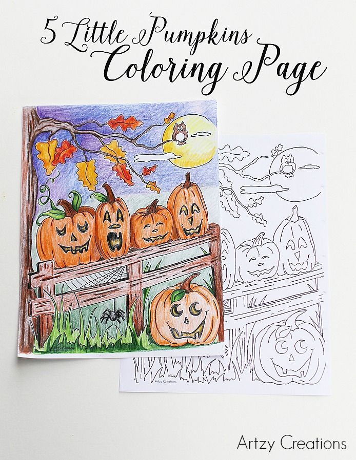Artzycreations Com Pumpkin Coloring Pages Coloring Pages Pumpkin Colors