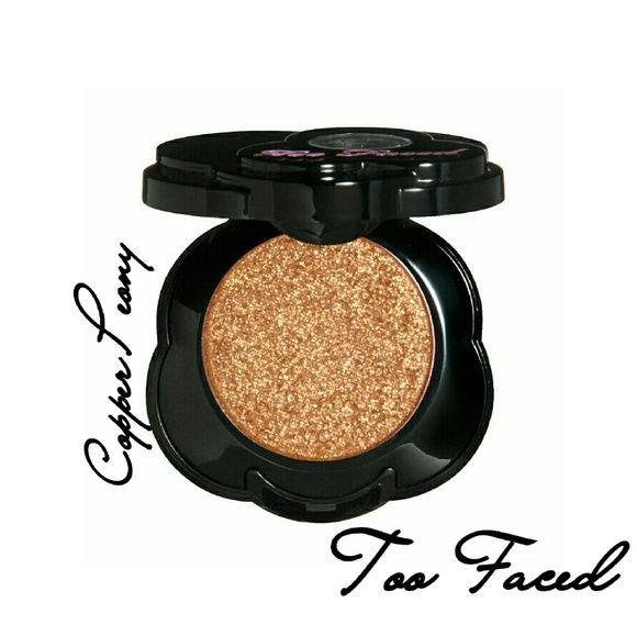 "Too Faced Eye-shadow Single Too Faced Eyeshadow Single in ""Copper Peony"" *Vegan*Color-saturated formula guarantees maximum color. Shadows blend effortlessly when applied alone or if dramatically layered. Your lids will be instantly elevated to daring and dynamic heights with these color-saturated accents. Brand new in box. Never used. Never swatched. Price firm! 100% authentic Too Faced Makeup Eyeshadow"