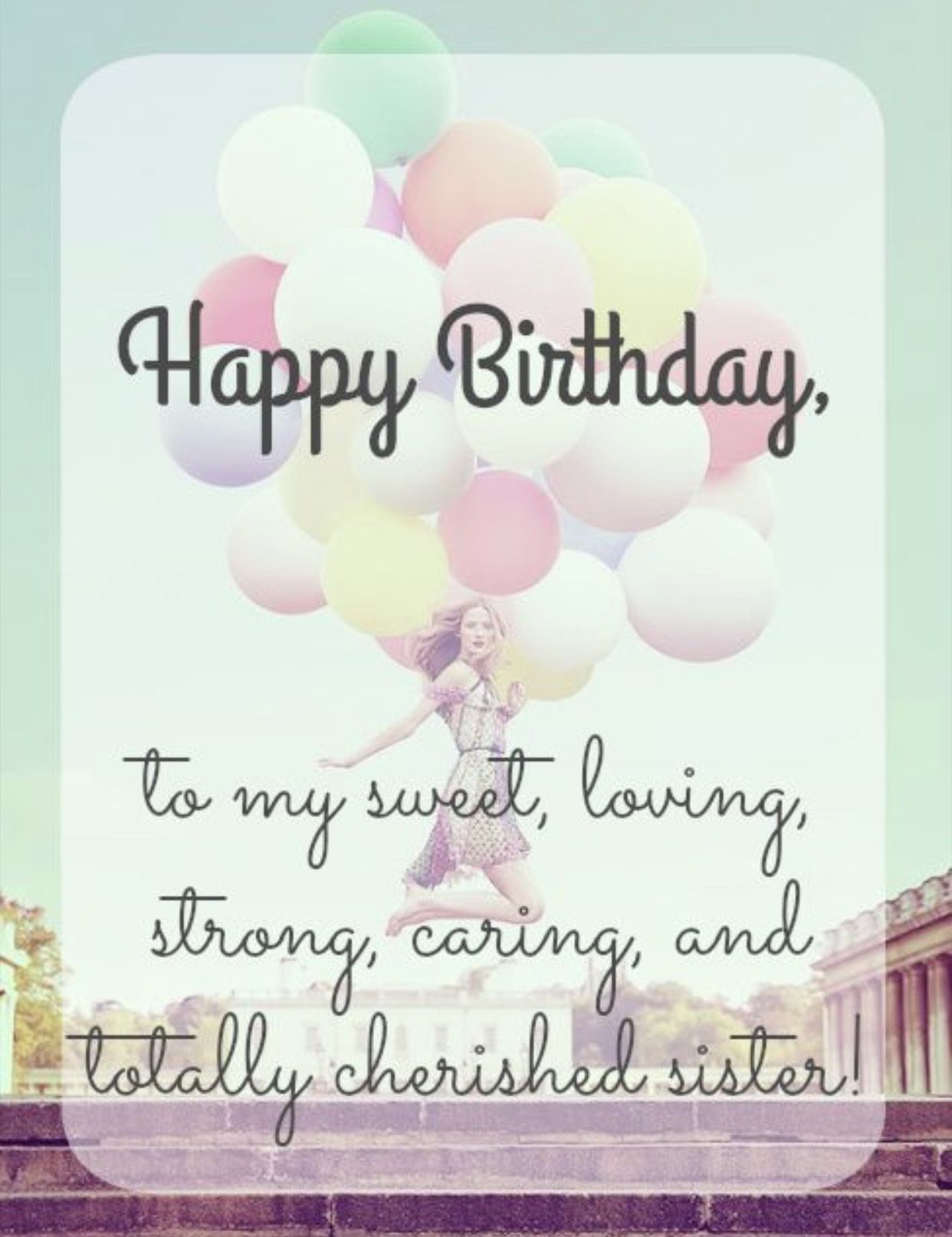 Sister Happy Birthday Sister Messages Sister Birthday Quotes