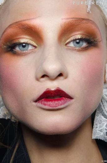 33 idées de maquillage métallisé pour les yeux