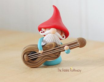 Itty bitty gnomes - a good luck gnome in a teeny tiny size. #pictureplacemeant