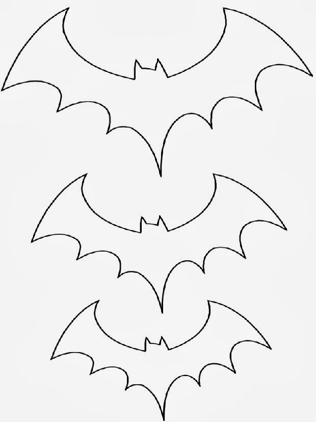 murcielago halloween plantilla - Buscar con Google Halloween - patterns for halloween decorations