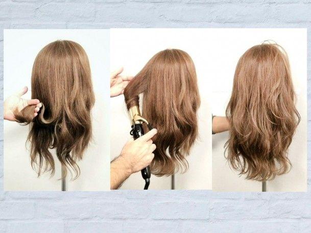 ヘアアイロンでかわいい巻き髪を作る方法