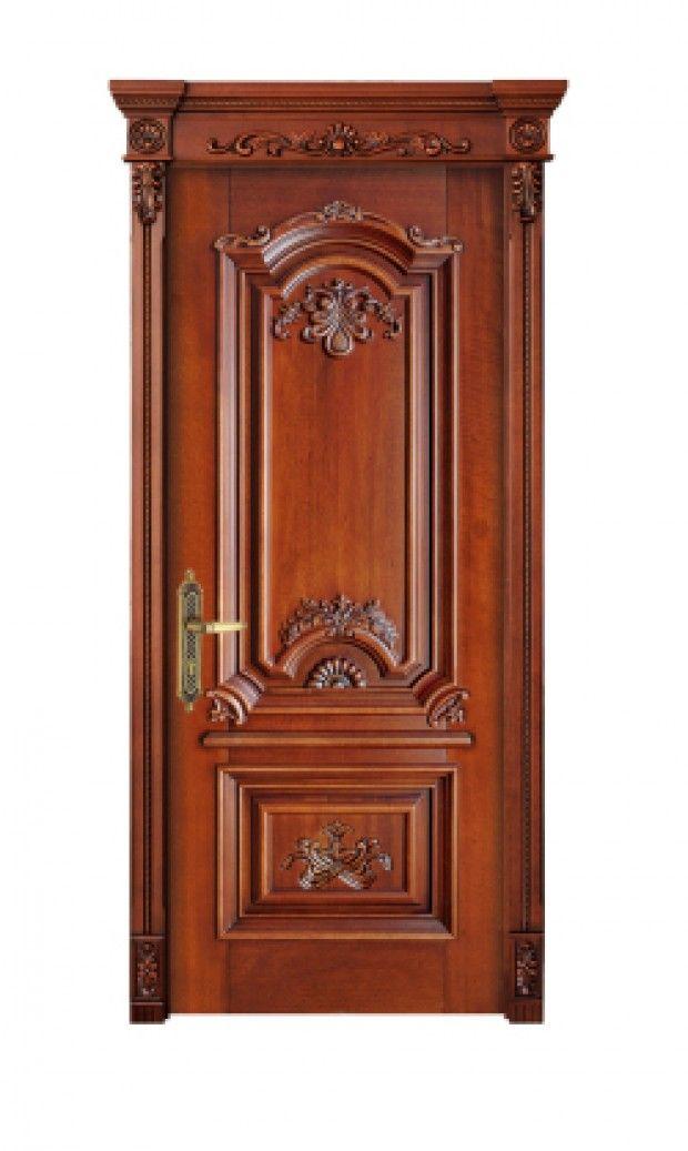Bavas Wood Works Pooja Room Door Frame And Door Designs: Mẫu Cửa Gỗ Đẹp Chạm Hoa Văn