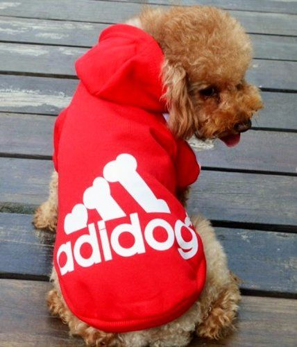 New Adidog Red Dog Sweatshirt Hoodie Jacket New And Improved