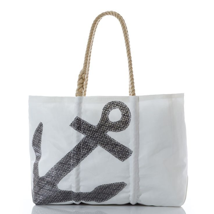 Sea Bags Recycled Sail Cloth Nautical Motifs Tote