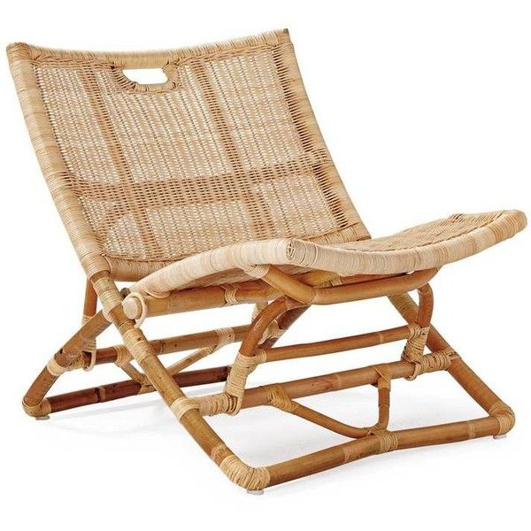 Serena U0026 Lily Palisades Chair Natural Featuring Polyvore, Home, Outdoors, Patio  Furniture, Outdoor Chairs, Outdoor Furniture, Woven Patio Furniture, Rattan  ...