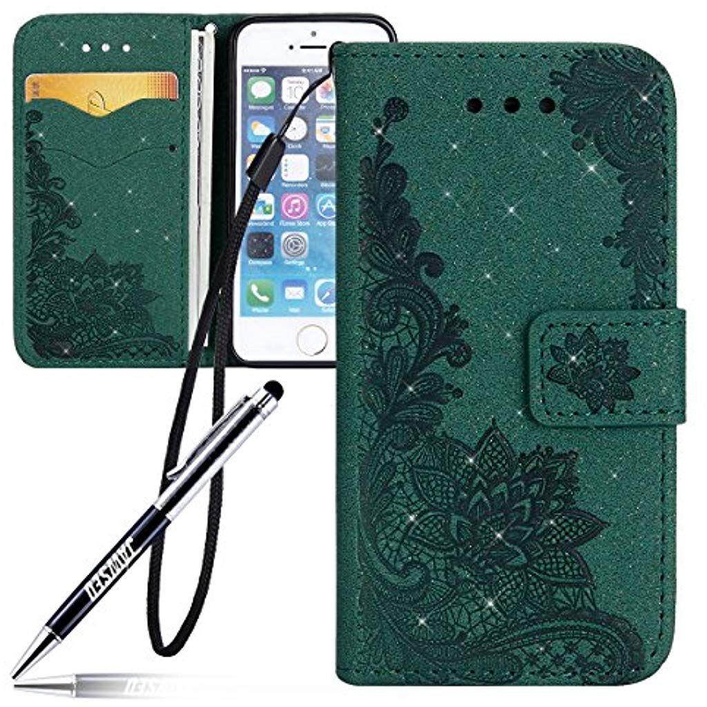iPhone 5 Custodia iPhone 5S Cover JAWSEU iPhone SE Custodia